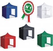 gazebo 3x3 acciaio